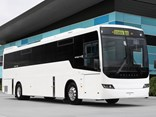 """The additional 40hp is definitely noticeable, as is the extensive optimisation work that was carried out across the complete driveline for a smooth and efficient drive,"" said Volvo Bus Australia GM Lauren Downs."