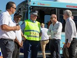 Senior Busways staff members hosted senior police officers and representatives from government and industry including Transport for NSW, RMS, Penrith Council, and the Transport Workers Union.