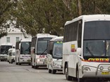 'Communities would also be stripped of affordable transport options when normal travel resumed if a lifeline was not thrown to the small private bus industry now', Canberra rally organisers say.