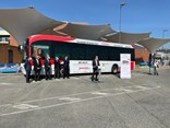 According to Irizar, the project's breakthrough is its capacity to transport passengers and its interaction with vehicles, pedestrians and infrastructure under real conditions in the city of Malaga.