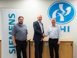 L-R: Aaron Gillon, divisional manager, YHI Energy; Paul Ravlich, CEO Siemens New Zealand; and Chris Talbot, managing director YHI Energy.