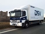 Mercedes-Benz Atego Hybrid trest truck that runs on HVO 100