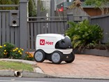 Aus Post delivery robot