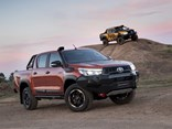 The exterior of Toyota's HiLux Rugged X was designed and engineered in Australia