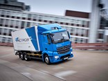 The all-electric eActros will hit the roads in a matter of weeks