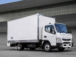 Fuso says the scheduled servicing package will cover select parts, oil and labour