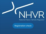 The NHVR Registration Checker app is now available
