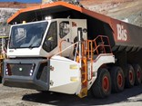 Bis' concept haulage truck Rexx has been trialled at the Murrin Murrin site