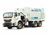 An image of East Waste's electric truck