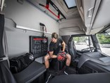 Iveco's Fit Cab paints an idealistic picture of what a truck driver's lifestyle could look like