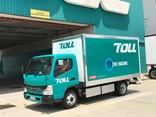 Toll's eCanter on site