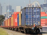 SCT's container shuttle in Melbourne