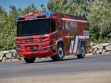The Rosenbauer RT firetruck