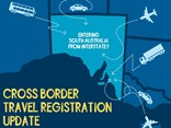How SA advertises its new travel registration move