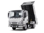 The new Isuzu tipper