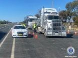 NSW Police image from the operation
