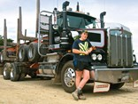 20-year-old trucker Sam Exeter