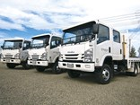 4x4 Isuzu honey trucks