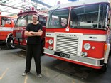 Matt Silver's impressive fire engine collection at Wellington Fire Museum