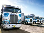 Kenworths dominate Jackson Transport's fleet