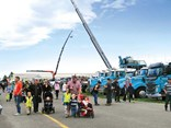 The Show and Shine competition at TMC Trailers Trucking Industry Show