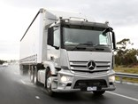 The new Benz 2643 offers comfort, economy and good handling on all road surfaces.