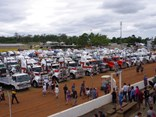 The Gatton Showgrounds was the destination for the Lights On The Hill convoy in 2014.