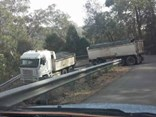 Nearly 100 over-size trucks have been trapped in the Galston Gorge in the past year alone.