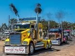 More than 500 trucks are expected to take part in the Lights on the Hill Memorial convoy on September 29. Photo Shutter Stock Photography Brisbane