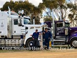 Great Southern Hearts - Driver for Life. Photo: Kendall Trucking & Co