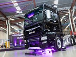 The recently launched MAN TGX D38 XXL Cab