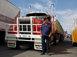 Trevor Ellwood is organising a short truck run on March 29 to mark the 40th anniversary of the Razorback Blockade