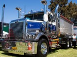 An SKC Haulage Western Star tipper on display at the 2018 Penrith Working Truck Show, which is also the venue for the 2019 Western Star Trucks Show n Shine in November.