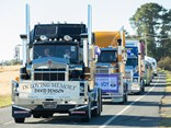 The Canberra Convoy rolls on to Canberra's Exhibition Park