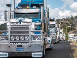 Lowood Truck Show convoy