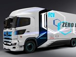 The heavy-duty fuel cell truck is based on the Hino Profia, known in Australia as the Hino 700 Series.