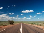 Eyre Highway, South Australia: a long stretch to Ceduna.