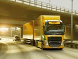Volvo FH electric truck on trial with DHL