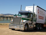 Kenworth's new T410 SAR with the Paccar MX-13 engine