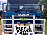 A 1985 Scania 112H will take the role of People's Truck at this year's Convoy for the Cure in Townsville.