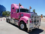 Pilbara Heavy Haulage Girls Mack on tour for IWD