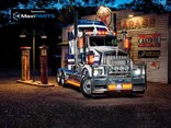This restored Kenworth SAR Gold Nugget is a show piece after hours of pain