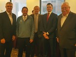 CTAA's Neil Chambers, Senator Glen Sterle, Senator Alex Gallacher, FTA's Travis Brooks-Garrett and Senator Barry O'Sullivan