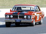 Ford Falcon GT-HO on track
