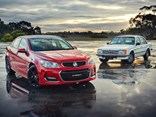 Last and first - Holden Commodore VF and VB