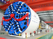First XGMA tunnel borer rolls off production line