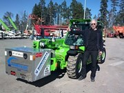 Finnish man bags Guinness record for longest journey on telehandler