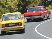 1969 Chrysler Valiant VF Pacer vs 1972 Fiat 125T: Oz v Euro #3