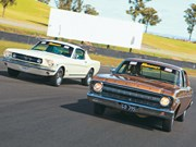 Ford XR Falcon GT vs Mustang (K-Code) 1966-67