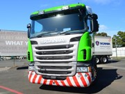 Scania unveils bright idea up front